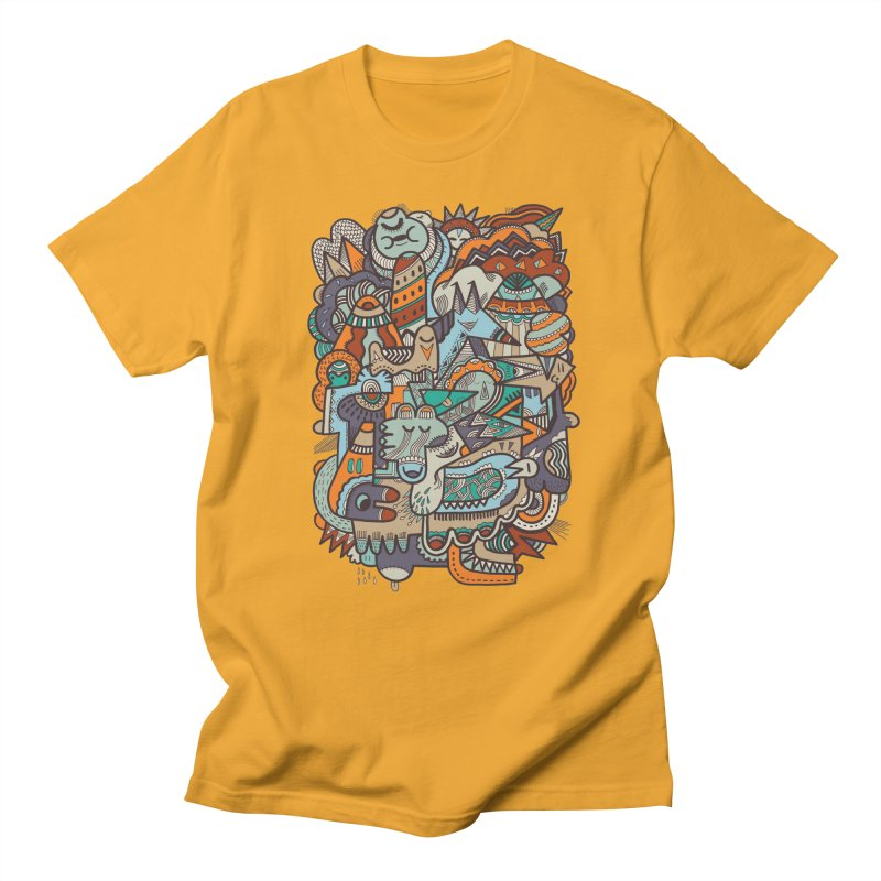 Punky dreamed of fairgrounds Men's T-shirt by uberkraaft's Artist Shop