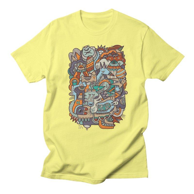 Punky dreamed of fairgrounds Men's T-shirt by uberkraaft's Artist Shop