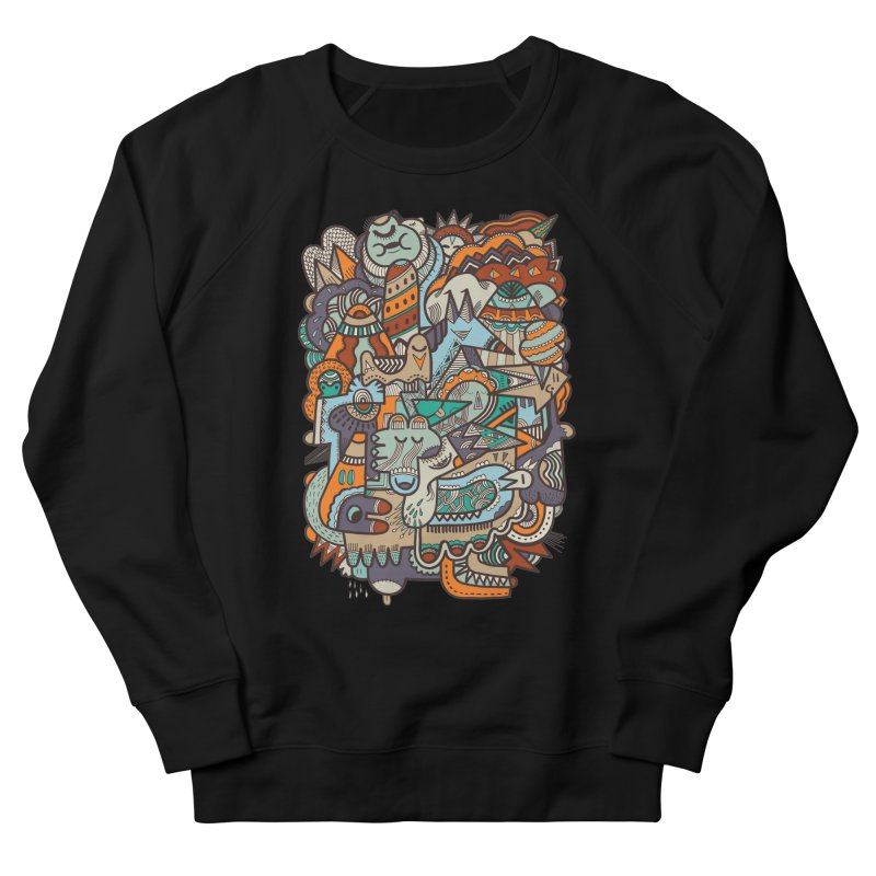 Punky dreamed of fairgrounds Women's Sweatshirt by uberkraaft's Artist Shop