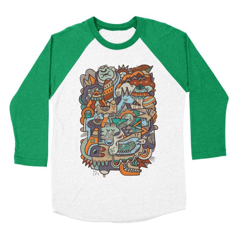 Punky dreamed of fairgrounds Men's Baseball Triblend T-Shirt by uberkraaft's Artist Shop