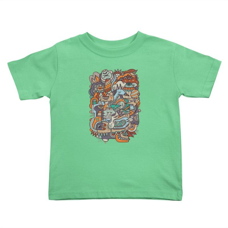 Punky dreamed of fairgrounds Kids Toddler T-Shirt by uberkraaft's Artist Shop
