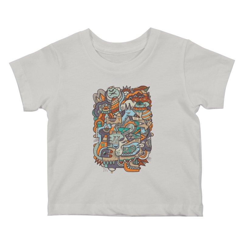 Punky dreamed of fairgrounds Kids Baby T-Shirt by uberkraaft's Artist Shop