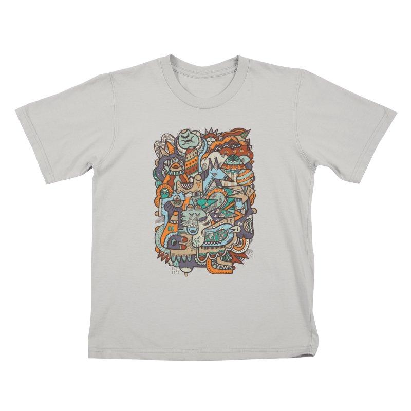 Punky dreamed of fairgrounds Kids T-shirt by uberkraaft's Artist Shop