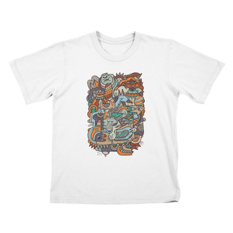 Punky dreamed of fairgrounds Kids T-Shirt by uberkraaft's Artist Shop