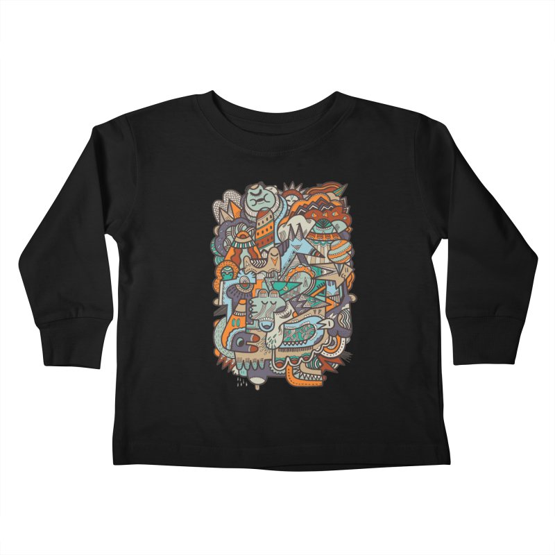 Punky dreamed of fairgrounds Kids Toddler Longsleeve T-Shirt by uberkraaft's Artist Shop
