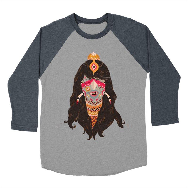 The witch of trees Women's Baseball Triblend T-Shirt by uberkraaft's Artist Shop