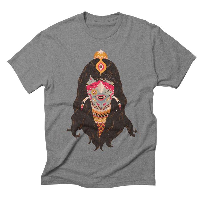The witch of trees Men's Triblend T-shirt by uberkraaft's Artist Shop