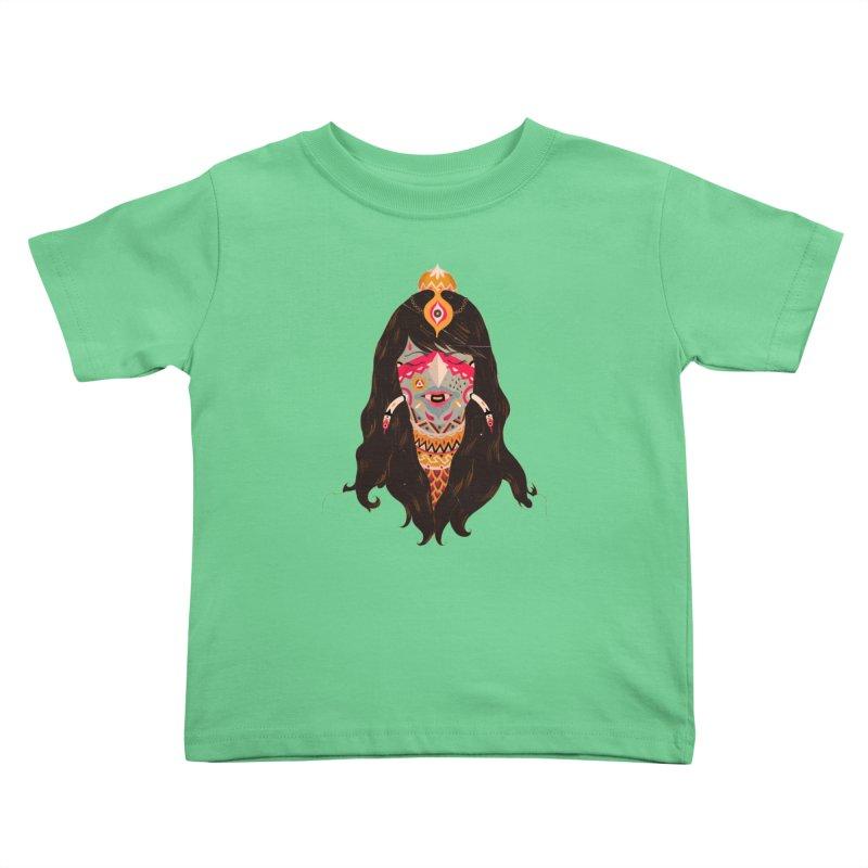 The witch of trees Kids Toddler T-Shirt by uberkraaft's Artist Shop