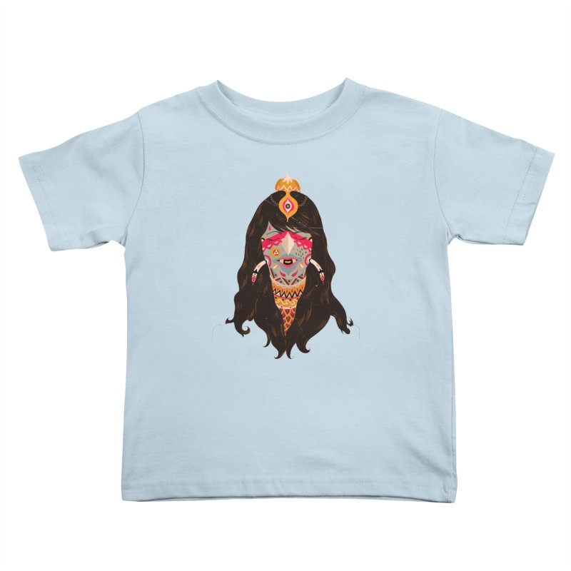 The witch of trees Kids Toddler T-Shirt by uberkraaft's Artist Shop
