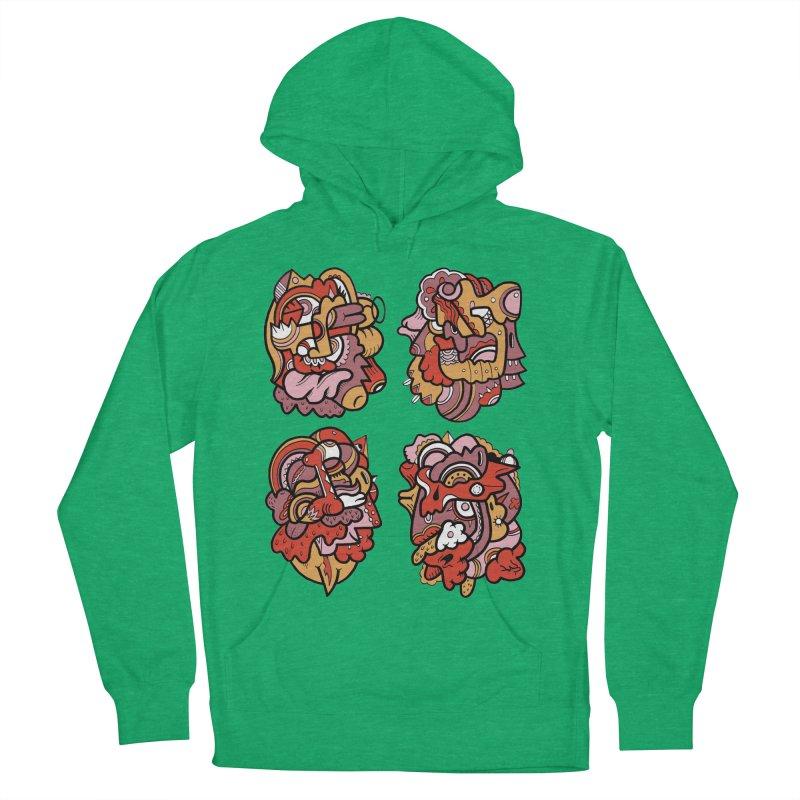 Fab Four Women's Pullover Hoody by uberkraaft's Artist Shop