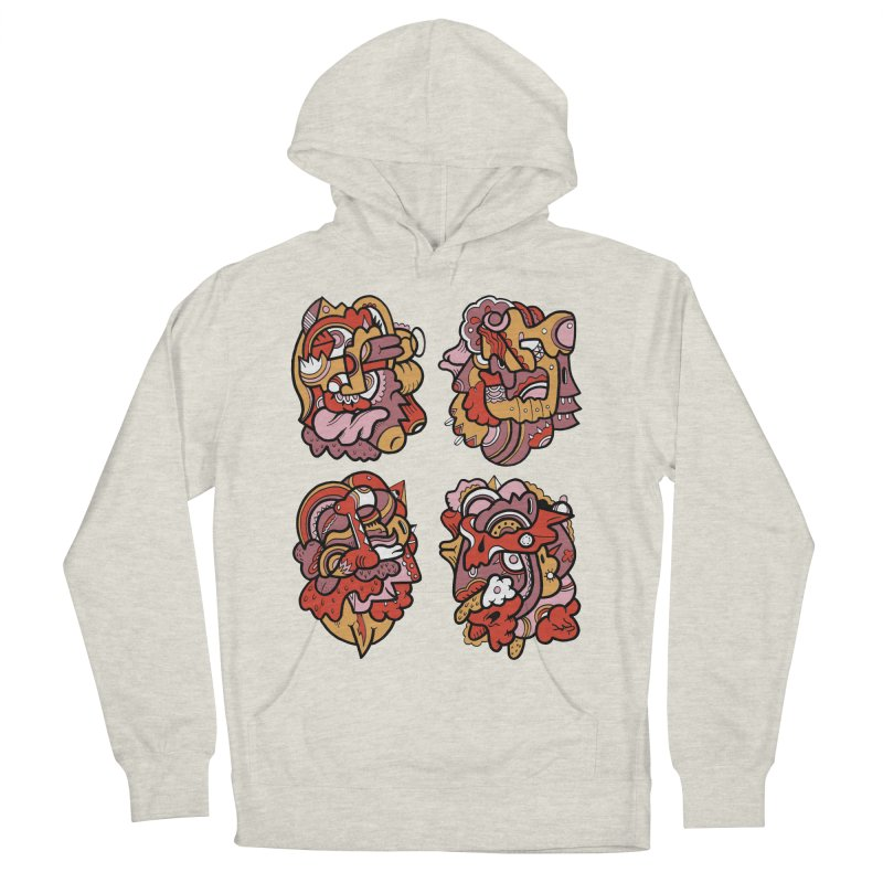 Fab Four Women's Pullover Hoody by uberkraaft's Artist Shop