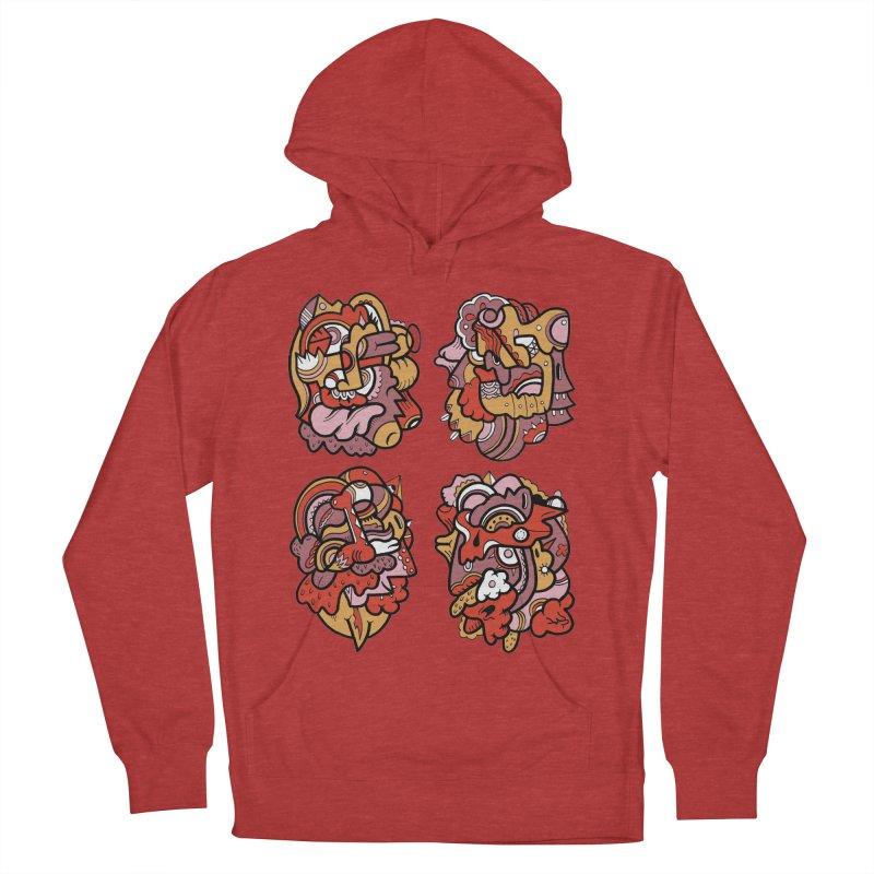 Fab Four Men's Pullover Hoody by uberkraaft's Artist Shop