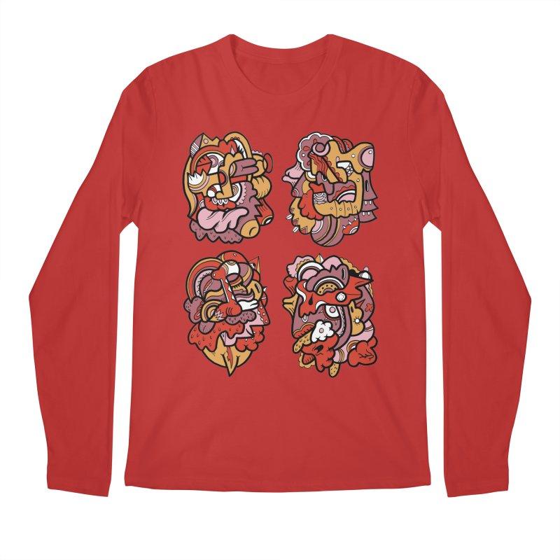 Fab Four Men's Longsleeve T-Shirt by uberkraaft's Artist Shop