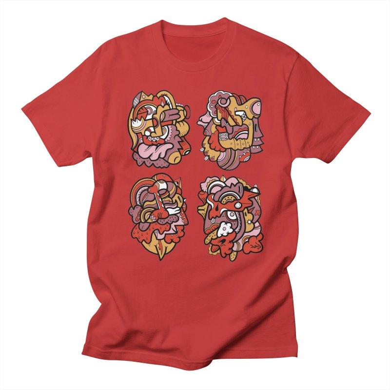 Fab Four Men's T-Shirt by uberkraaft's Artist Shop