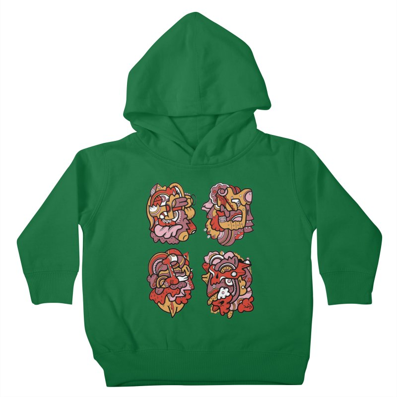Fab Four Kids Toddler Pullover Hoody by uberkraaft's Artist Shop