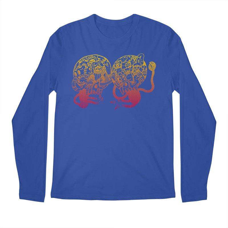 Otto und Marten Men's Longsleeve T-Shirt by uberkraaft's Artist Shop