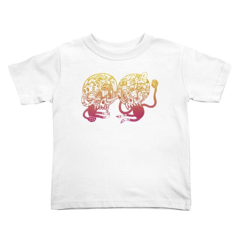 Otto und Marten Kids Toddler T-Shirt by uberkraaft's Artist Shop