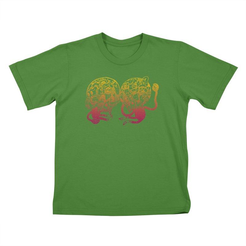 Otto und Marten Kids T-shirt by uberkraaft's Artist Shop