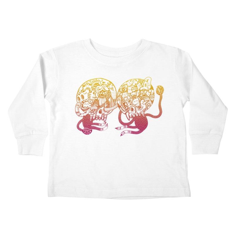 Otto und Marten Kids Toddler Longsleeve T-Shirt by uberkraaft's Artist Shop