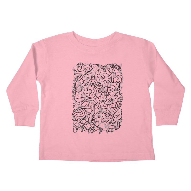 They might be Kids Toddler Longsleeve T-Shirt by uberkraaft's Artist Shop