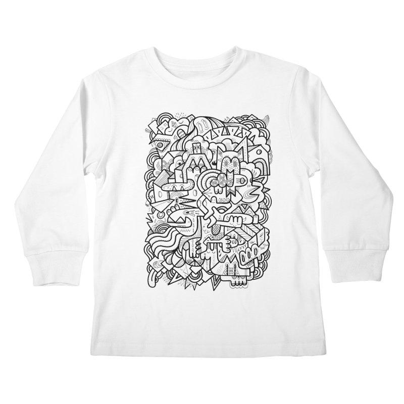 They might be Kids Longsleeve T-Shirt by uberkraaft's Artist Shop