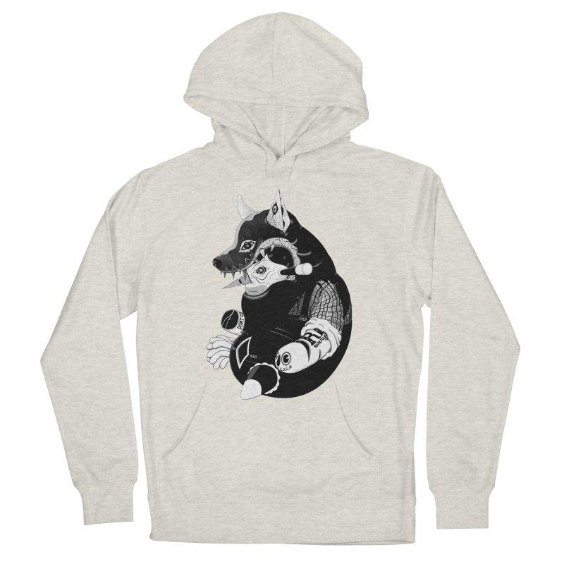 Volf Men's Pullover Hoody by uberkraaft's Artist Shop
