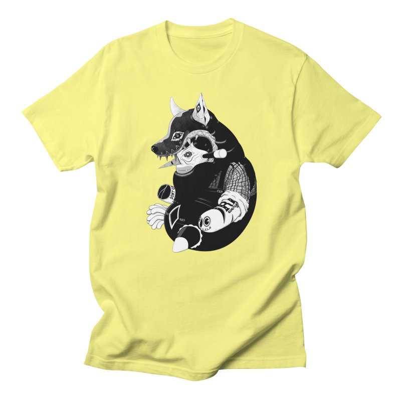 Volf Men's T-shirt by uberkraaft's Artist Shop