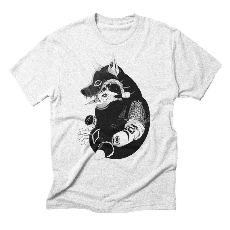 Volf Men's Triblend T-shirt by uberkraaft's Artist Shop