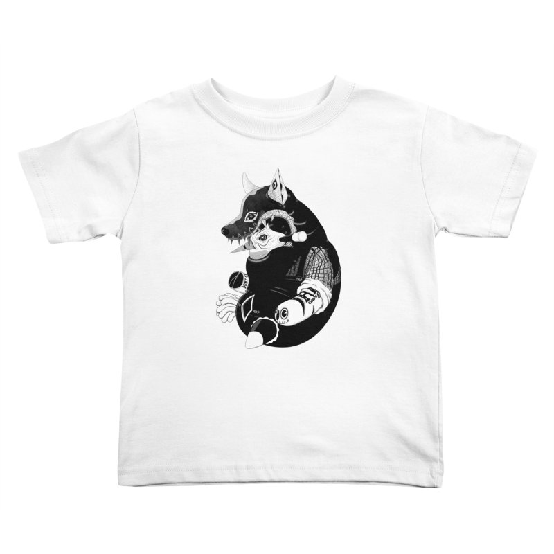 Volf Kids Toddler T-Shirt by uberkraaft's Artist Shop