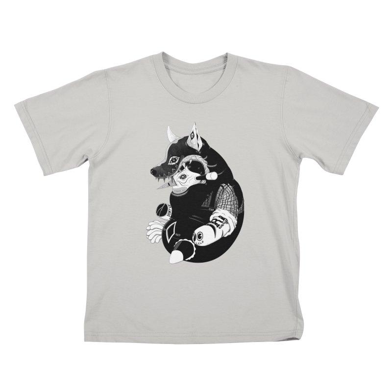 Volf Kids T-shirt by uberkraaft's Artist Shop