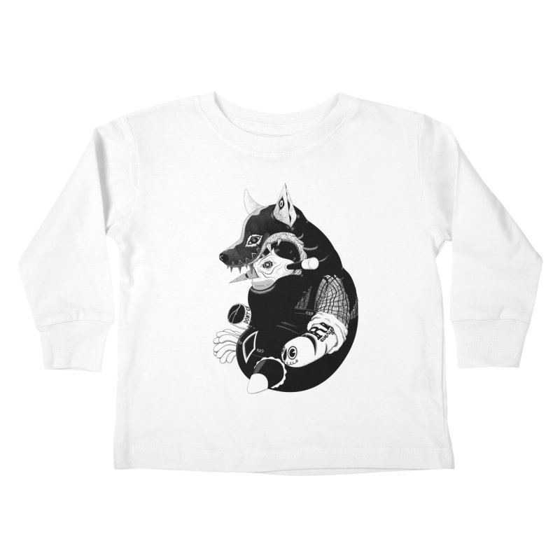 Volf Kids Toddler Longsleeve T-Shirt by uberkraaft's Artist Shop