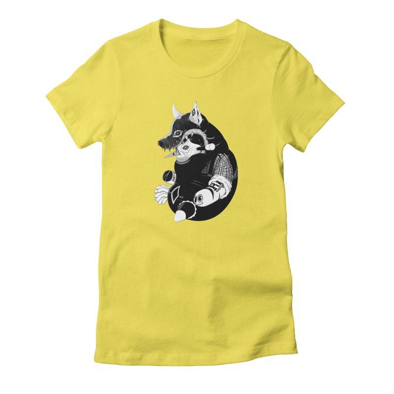 Volf Women's T-Shirt by uberkraaft's Artist Shop