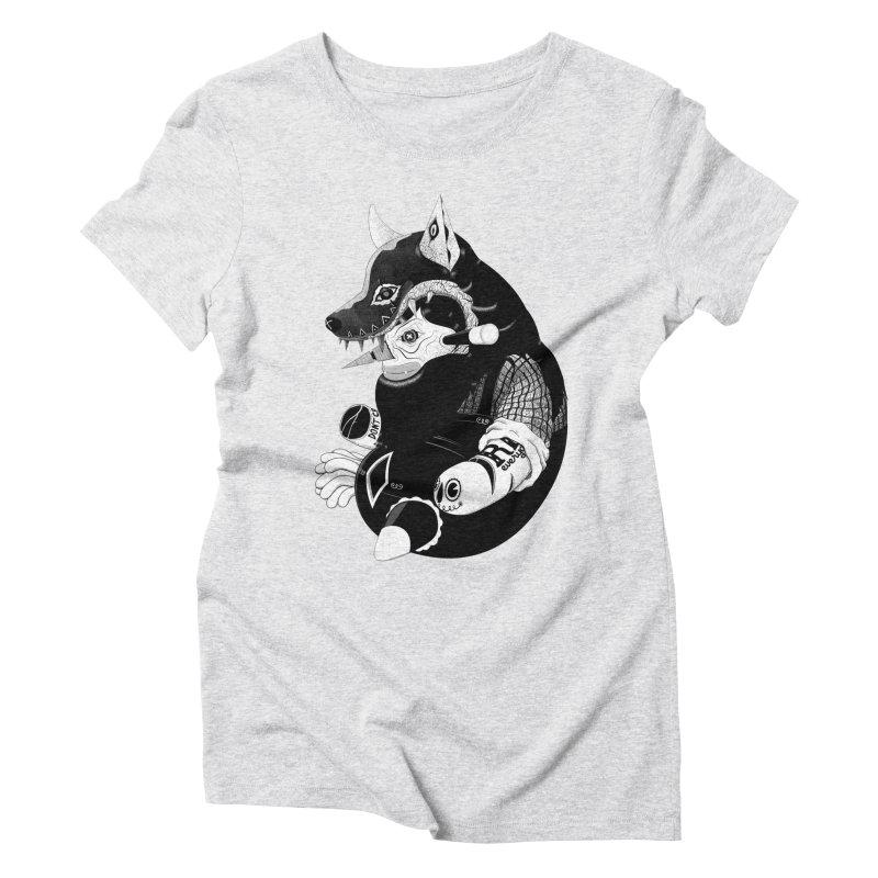 Volf Women's Triblend T-Shirt by uberkraaft's Artist Shop