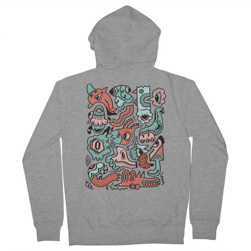 Maelstrom Women's Zip-Up Hoody by uberkraaft's Artist Shop