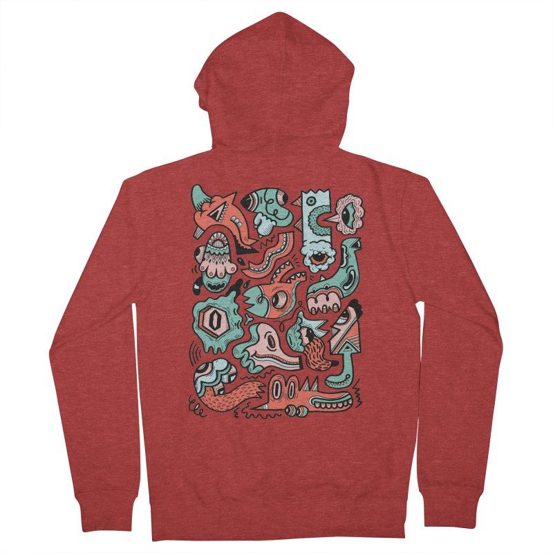 Maelstrom Men's Zip-Up Hoody by uberkraaft's Artist Shop