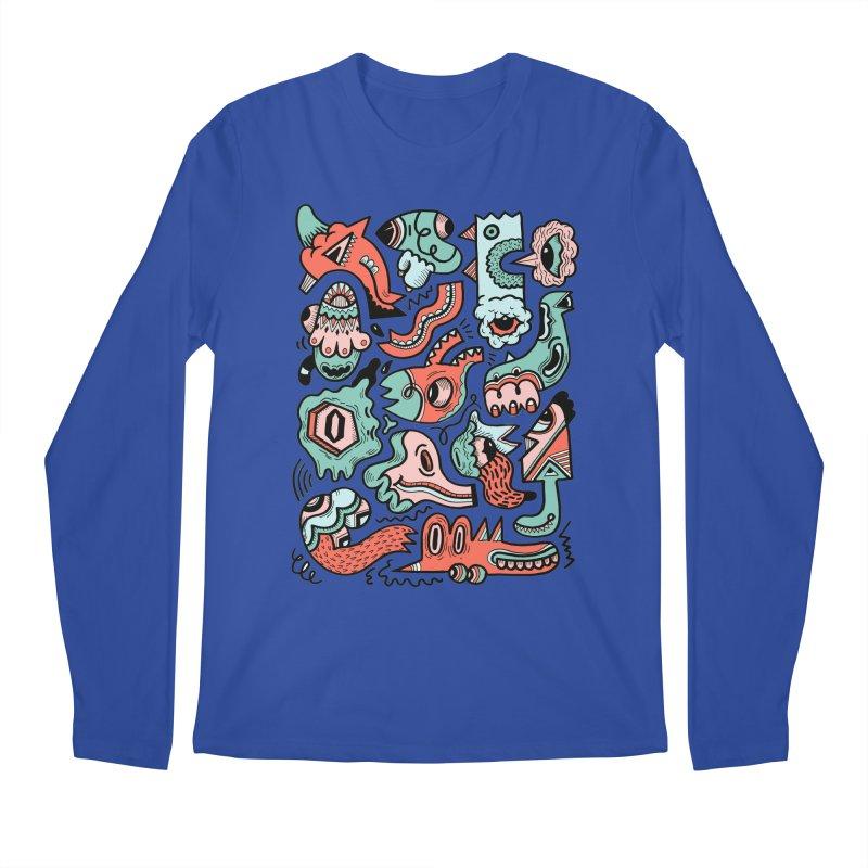 Maelstrom Men's Longsleeve T-Shirt by uberkraaft's Artist Shop