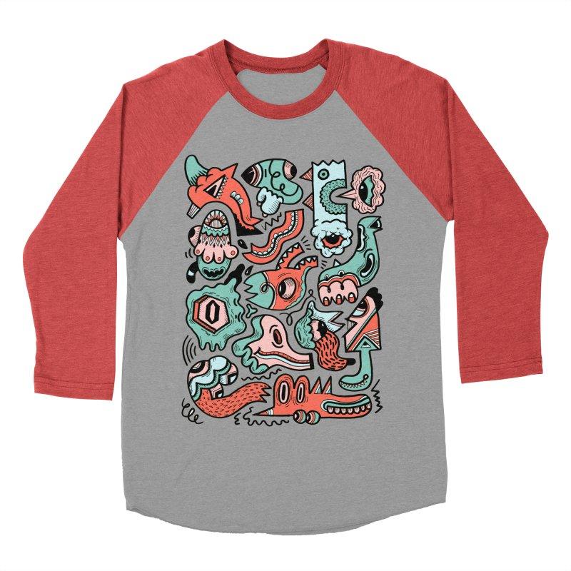 Maelstrom Men's Baseball Triblend T-Shirt by uberkraaft's Artist Shop