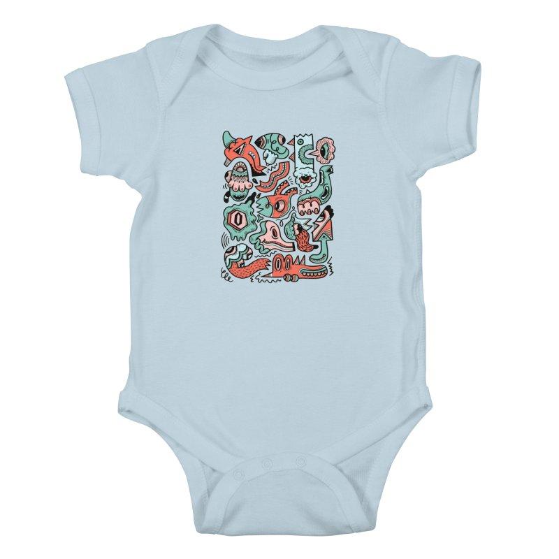 Maelstrom Kids Baby Bodysuit by uberkraaft's Artist Shop