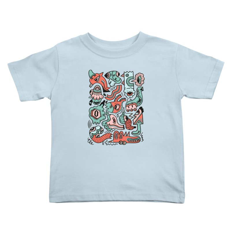 Maelstrom Kids Toddler T-Shirt by uberkraaft's Artist Shop