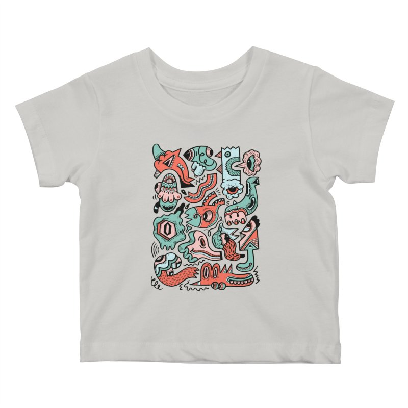 Maelstrom Kids Baby T-Shirt by uberkraaft's Artist Shop