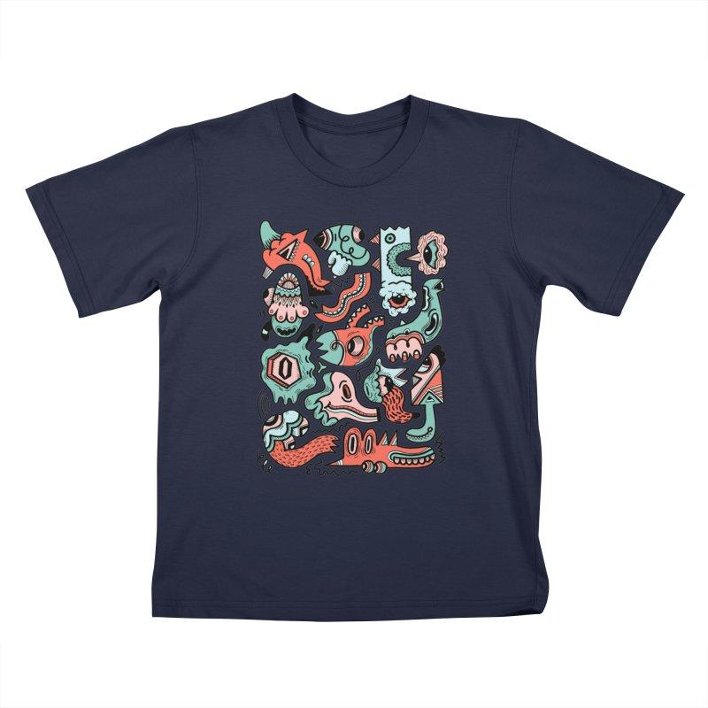 Maelstrom Kids T-Shirt by uberkraaft's Artist Shop