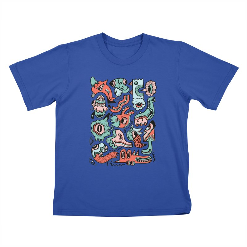 Maelstrom Kids T-Shirt by uberkraaft's Artist Shop