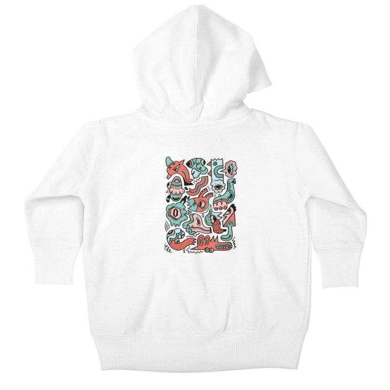 Maelstrom Kids Baby Zip-Up Hoody by uberkraaft's Artist Shop