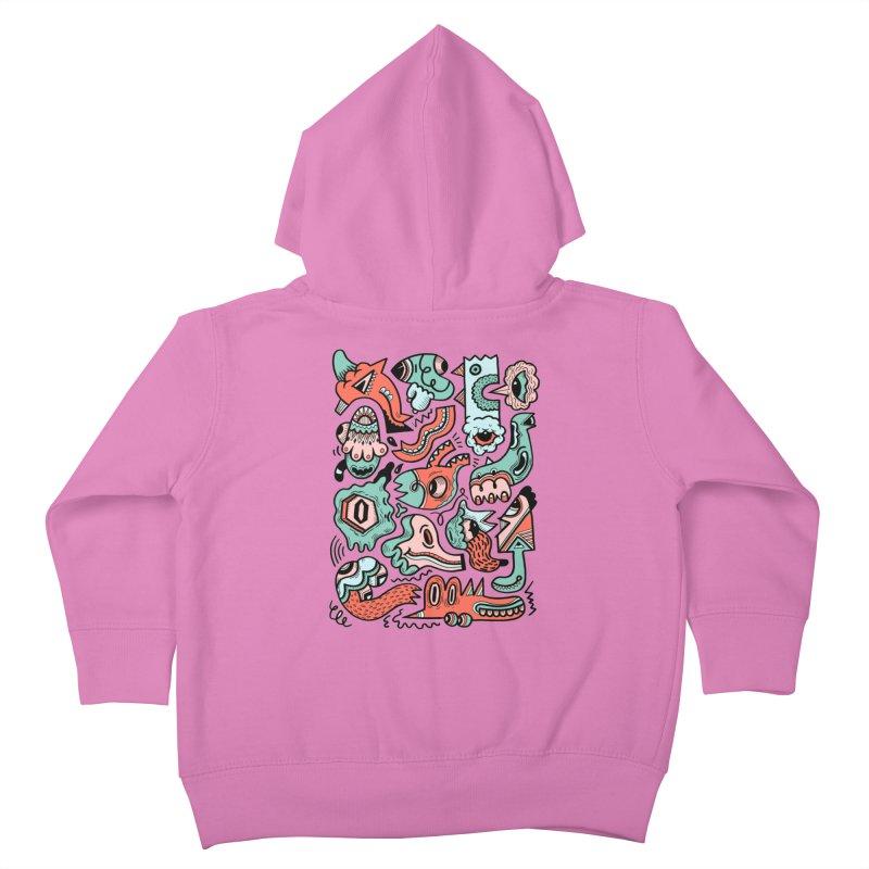Maelstrom Kids Toddler Zip-Up Hoody by uberkraaft's Artist Shop