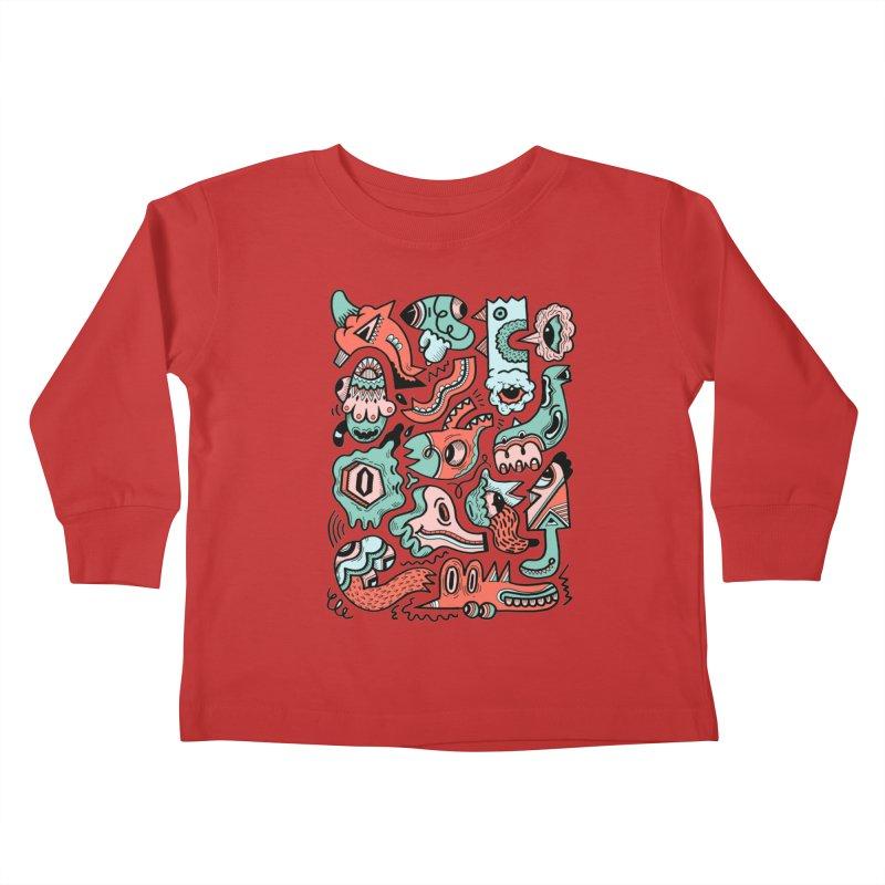 Maelstrom Kids Toddler Longsleeve T-Shirt by uberkraaft's Artist Shop