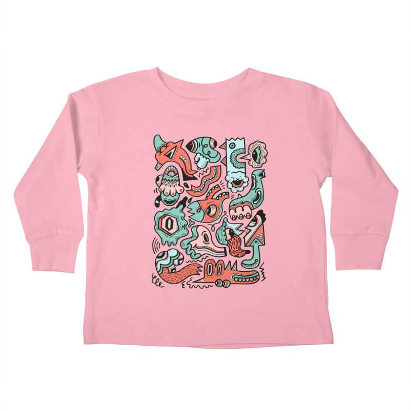 Maelstrom Kids Toddler Longsleeve T-Shirt by uberkraaft's Artist Shop