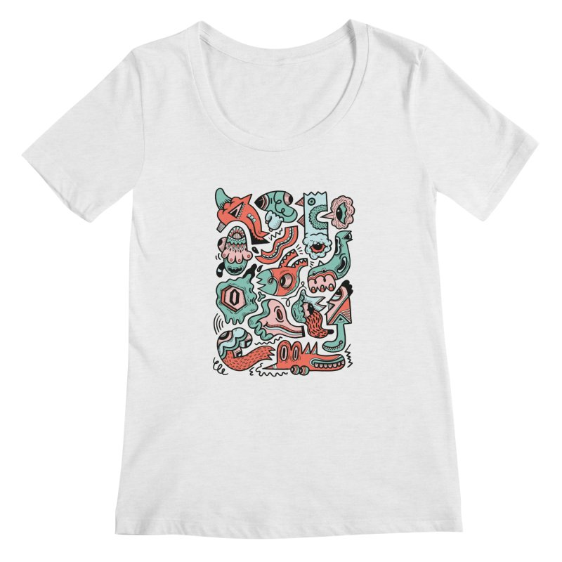 Maelstrom Women's Scoopneck by uberkraaft's Artist Shop