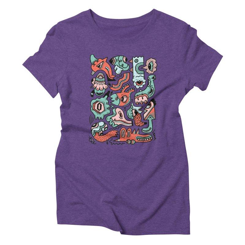 Maelstrom Women's Triblend T-Shirt by uberkraaft's Artist Shop