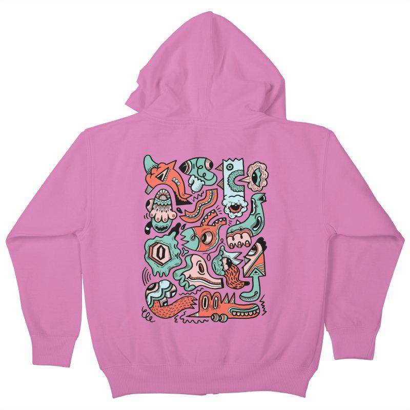 Maelstrom Kids Zip-Up Hoody by uberkraaft's Artist Shop