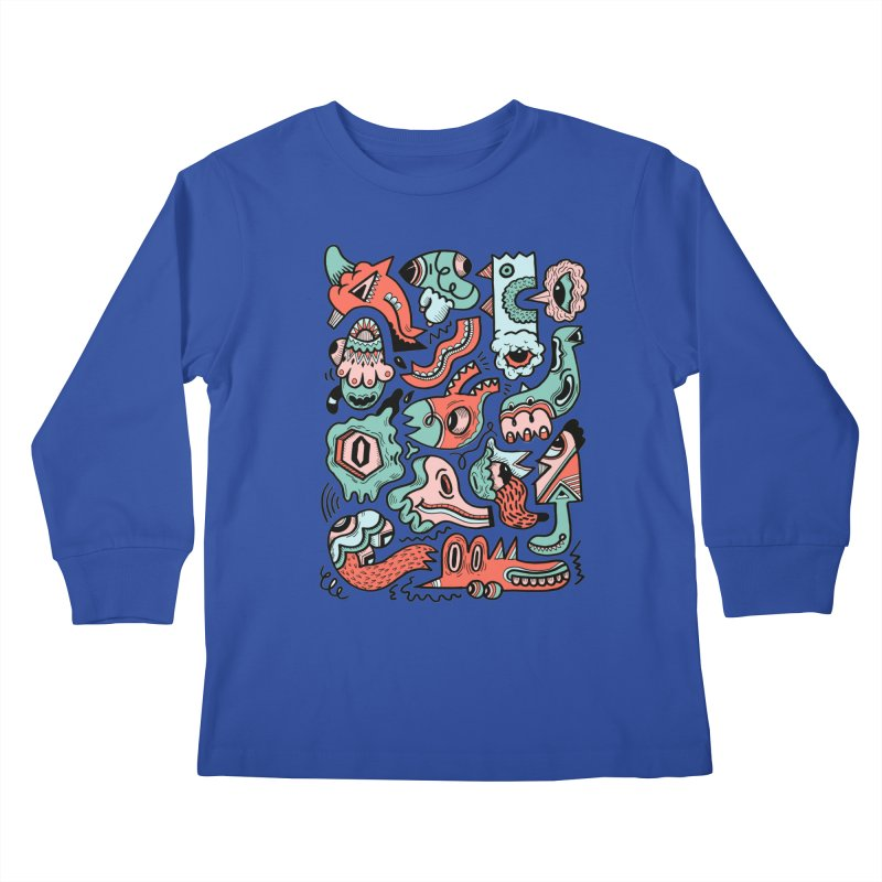 Maelstrom Kids Longsleeve T-Shirt by uberkraaft's Artist Shop